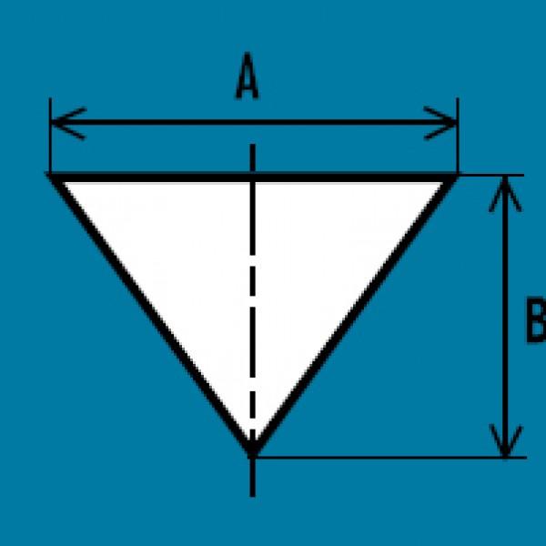 Airsock-driehoek - boven- en onderdruk