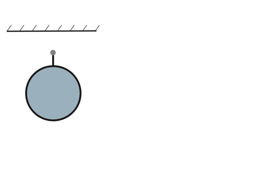 Montage van een ronde Airsock aan een staaldraad