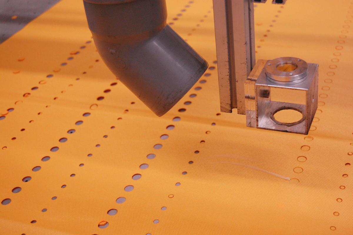 laserperforatie airsock